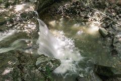 Водопад на реке Mebre 6 Стоковые Фото