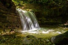 Водопад на реке Mebre 15 Стоковое фото RF