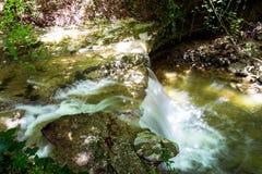Водопад на реке Mebre 3 Стоковое Фото