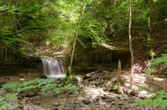 Водопад на реке Mebre 7 Стоковое Фото