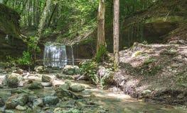 Водопад на реке Mebre 9 Стоковое Фото