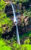 Водопад одно Lingamala известного туристического места около махарастры Panchgani стоковые изображения rf