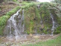 Водопад около монастыря Сербии Стоковая Фотография RF