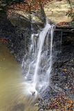 Водопад парка Piatt стоковое изображение