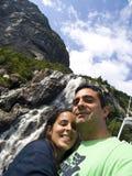водопад пар Стоковые Фотографии RF