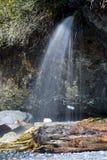 водопад пляжа Стоковая Фотография