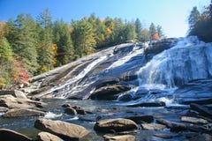 Водопад Северной Каролины Стоковые Изображения RF