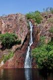 водопад северной территории Австралии Стоковая Фотография