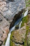 водопад Словении Стоковое Изображение RF