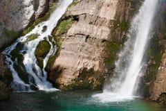 водопад Словении Стоковое фото RF