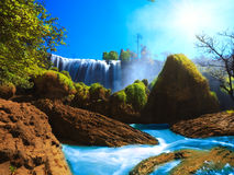 водопад слона Стоковое фото RF