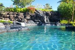 водопад спы курорта ландшафта Стоковое Изображение RF
