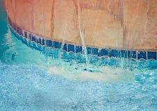 водопад спы Стоковые Фотографии RF