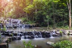 Водопад Сэм Lun, Saraburi, Таиланд Стоковая Фотография