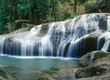 водопад Таиланда джунглей стоковое изображение