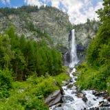 водопад утеса стороны большой Стоковые Фото