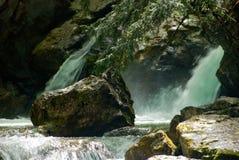 водопад утеса Стоковые Фотографии RF