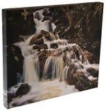 водопад холстины стоковое изображение
