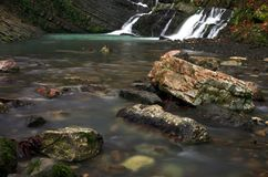 водопад 2 Стоковые Фото