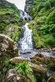 Водопад Assaranca стоковое изображение