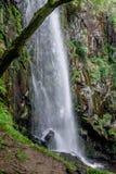 Водопад Augacaida в Panton, Галиции, Испании стоковая фотография rf