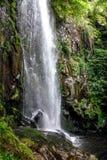 Водопад Augacaida в Panton, Галиции, Испании стоковые изображения rf