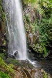 Водопад Augacaida в Panton, Галиции, Испании стоковые фотографии rf
