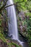 Водопад Augacaida в Panton, Галиции, Испании стоковая фотография