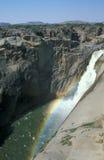 водопад augrabies стоковое изображение rf