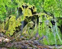 Водопад Beusnita в Румынии Стоковая Фотография
