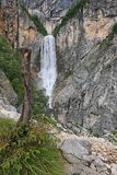водопад boka Стоковая Фотография RF