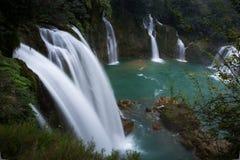 Водопад Bondjok Северный Вьетнам стоковая фотография
