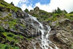 Водопад Capra Румыния Стоковое Изображение