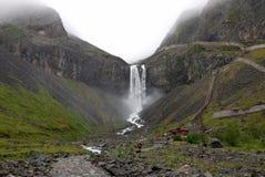 водопад changbai Стоковое фото RF