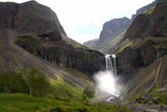 водопад changbai Стоковая Фотография