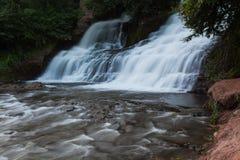 Водопад Chervonograd в зоне Ternopil, Украине Стоковое фото RF
