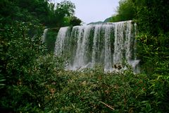 Водопад Chishui Стоковые Фотографии RF