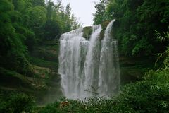 Водопад Chishui Стоковые Изображения RF