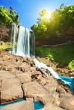 водопад dambri Стоковые Изображения