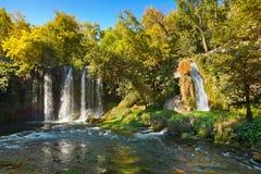 Водопад Duden на Antalya Турции Стоковые Изображения RF