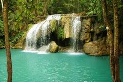 Водопад Erawan Стоковые Изображения RF