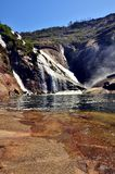 Водопад ezaro Стоковая Фотография RF