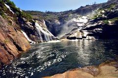 Водопад ezaro Стоковая Фотография