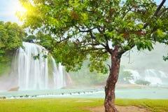 водопад gioc запрета detian стоковые изображения rf