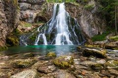 Водопад Gollinger стоковое изображение