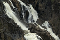 Водопад Gorge Barron Стоковое Изображение