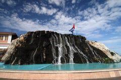 водопад habana Кубы Стоковые Изображения RF