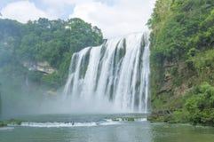 Водопад Huangguoshu в Гуйчжоу Стоковые Изображения