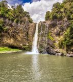Водопад - Hunua, Новая Зеландия Стоковые Фотографии RF
