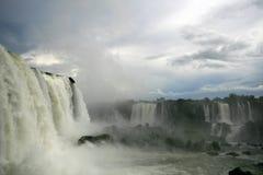 водопад iguazu Стоковая Фотография